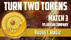 Budget Magic: Turn Two Tokens vs Abzan Company (Match 3)