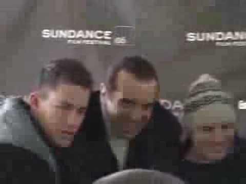 ChanningTatumUnwrapped.com - Channing Tatum at Sundance