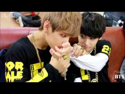 vkook love moments