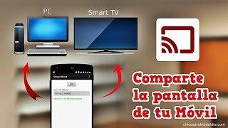 Comparte la pantalla de tu móvil en cualquier ordenador a través del WIFI thumbnail