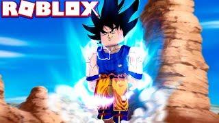 GOKU TRANSFORMS INTO ULTRA INSTINCT IN ROBLOX! (Roblox Dragon Ball Forces)