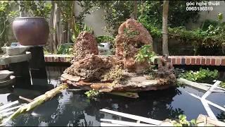 Thi công hồ cá koi từ a-z full 2/2 How to implement koi pond full