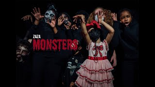 ZaZa - Monsters Feat. Brooklyn Queen [Official Video]