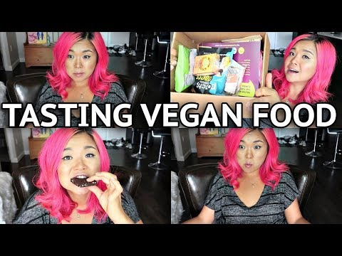 TASTING VEGAN FOOD/SNACKS!!!
