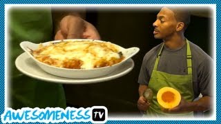 How To Cook Spaghetti Squash Casserole With Nfl Pro Chansi Stuckey - How To Be Awesome Ep.10