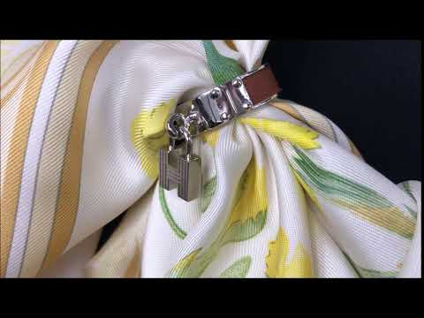 HERMES Kelly H Scarf Ring by Carre de Paris
