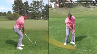 Short Game Tips: Vary trajectory with a setup change