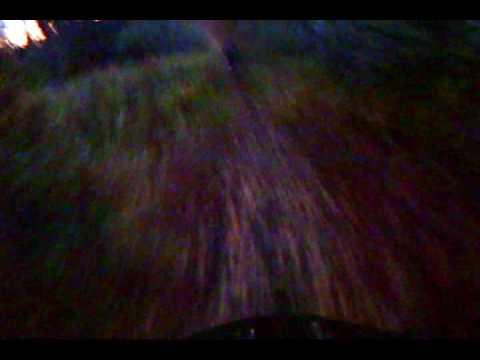 Mountain Biking,  Anchorage, Alaska -- Dome Trail