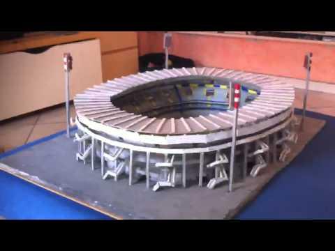 Modellino stadio bentegodi hellas verona model replica - Replica porta a porta di ieri ...