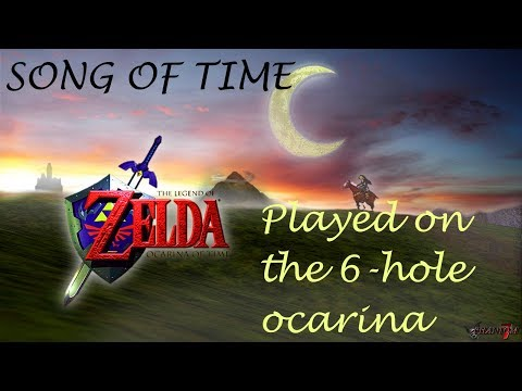Song of Time || 6-hole Ocarina