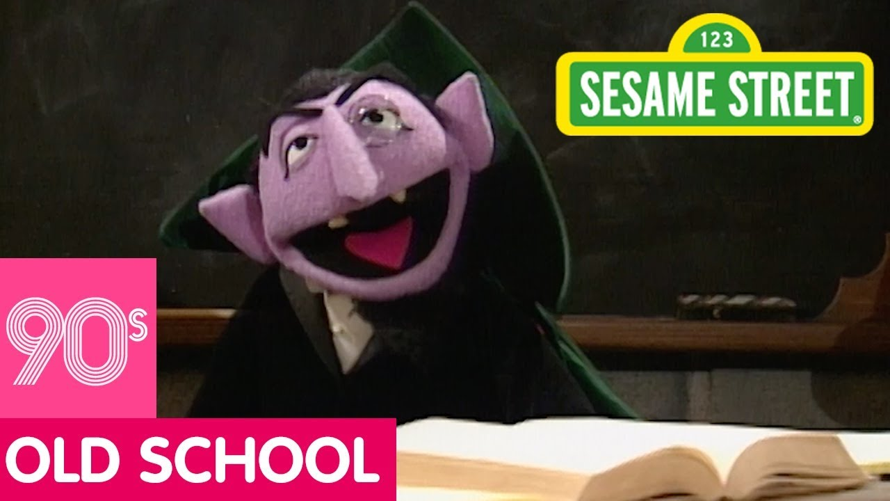 Sesame Street The Count S Counting School Throwbackthursday