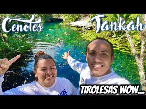 Tankah TOUR Cenotes 🔴 en TULUM NOS ENCANTO 😍 desde PLAYA CARMEN 🔵 CANCUN (😱 4 cenotes en 1 dia)
