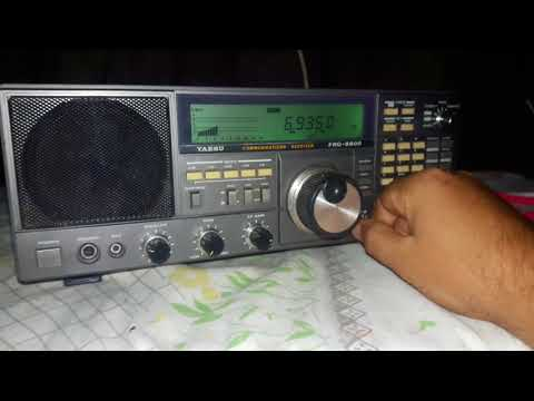 6935 kHz Wolverine Radio  - United States of America received in Brazil