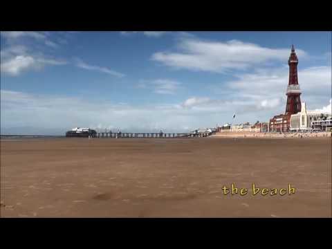 Climbing the Blackpool Tower / England