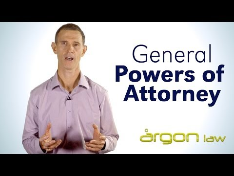 General Powers of Attorney // Argon Law // Tips from a Sunshine Coast Lawyer