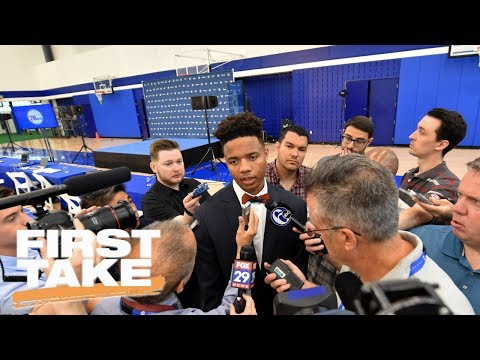 First Take Reacts To Markelle Fultz' Comments On 76ers | First Take | June 26, 2017