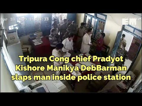 Police register case against Congress' Tripura unit chief Pradyot Kishore Deb Burman