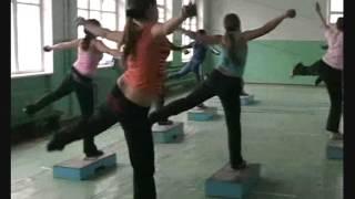Урок фітнесу в школі № 4 м. Гайсин Стародуб Оксана Василівна