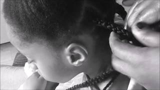 Simple Back to School Hairstyle For Kid #3