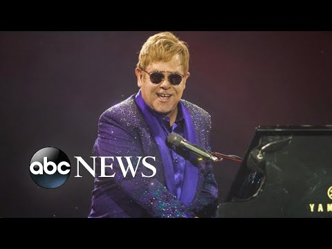 Elton John on why he's going on one final world tour