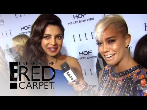 "Priyanka Chopra Talks ""Elle"" Magazine Cover Shoot 