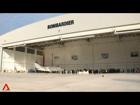 SINGAPORE: Bombardier opens aircraft services centre at Seletar Aerospace Heights
