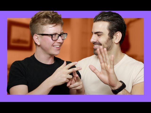 Flirting in Sign Language (ft. Nyle DiMarco) | Tyler Oakley