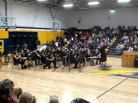"Fluvanna Middle School 7th Grade Band: ""A Prehistoric Suite"""