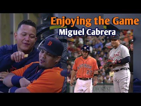 MLB | Miguel Cabrera Enjoying the Game