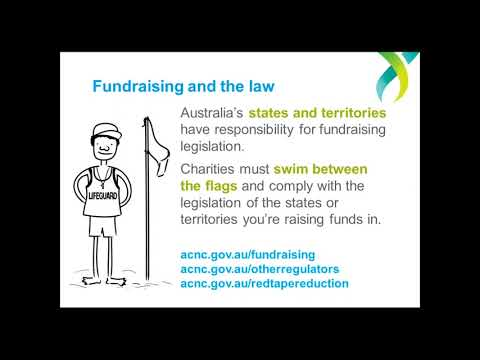Webinar - Charities and fundraising: Issues and risks - October 17 2017