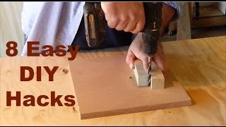 DIY Hacks - 8 money saving handyman and woodworking hacks