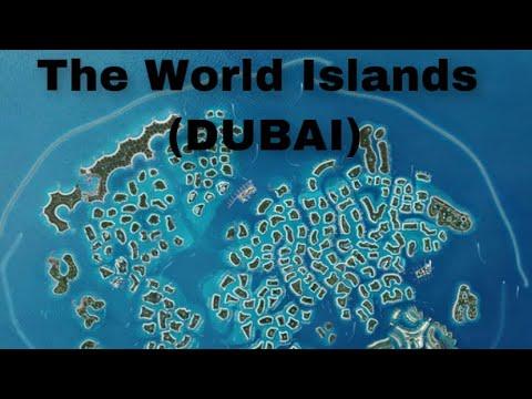The World Islands from a far (DUBAI)