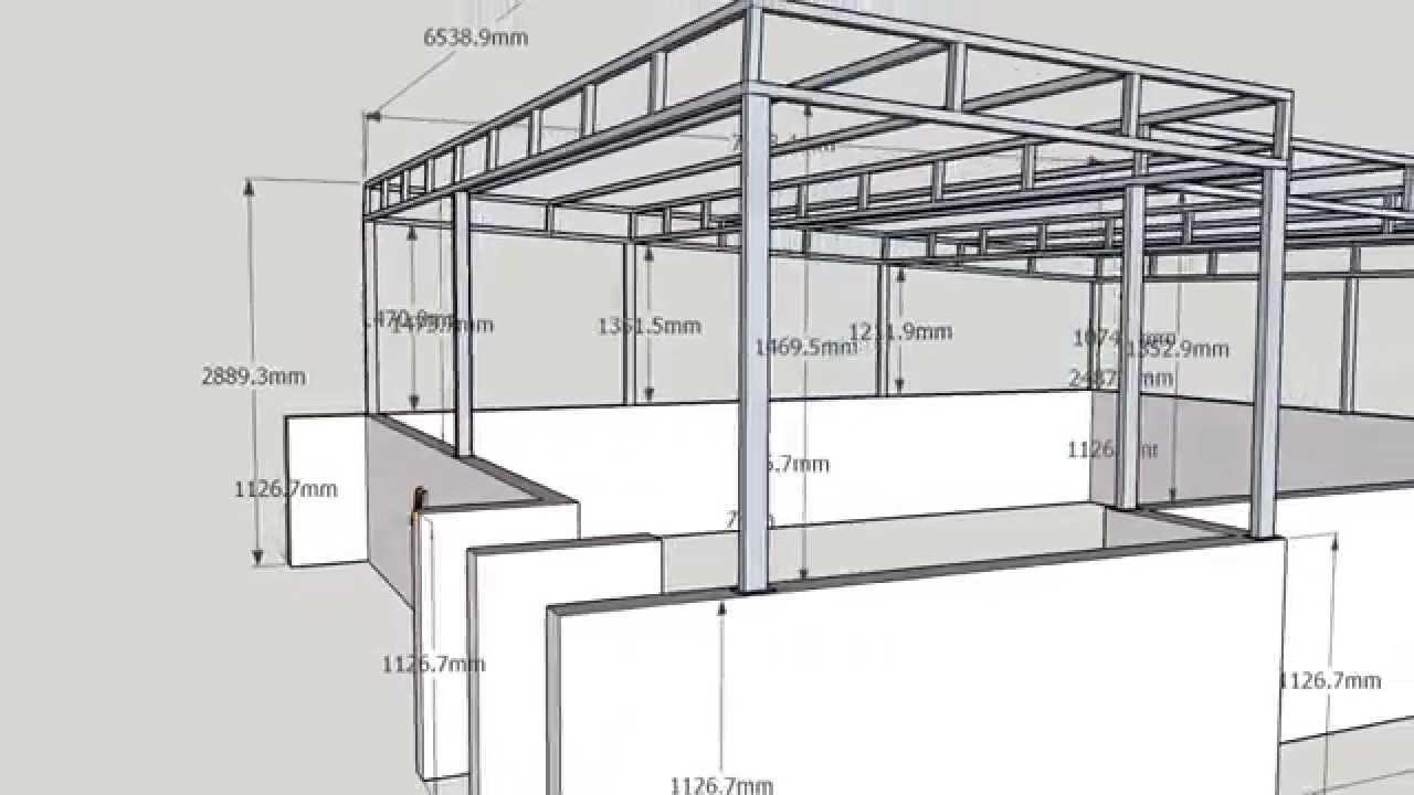 Casas estructura metalica perfect estructura metlica - Estructura metalica vivienda ...