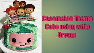COCOMELON  THEME CAKE #beginner
