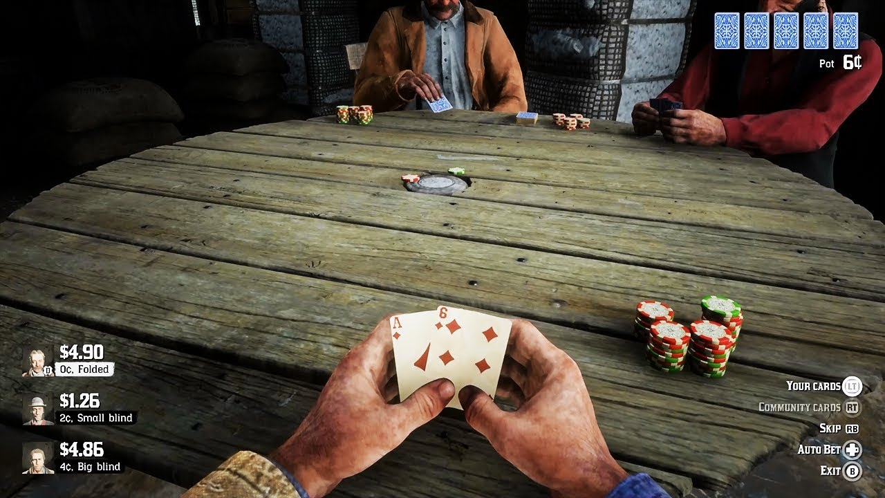 Play Poker in Red Dead Redemption II | PokerNews