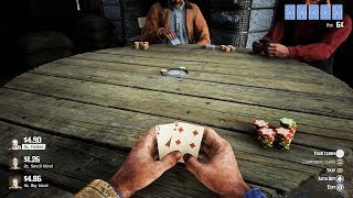 Playing Poker in Red Dead Redemption 2