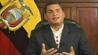 Rafael Correa invita a usar software libre