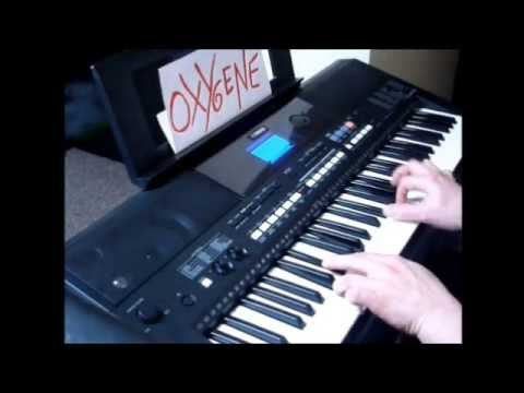 Jean Michel Jarre - OXYGENE IV.  Keyboard Cover