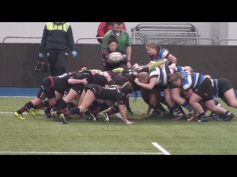 All the Saracens Women v Bath Ladies rugby match.