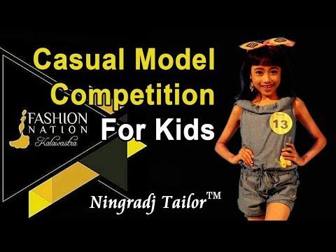 """Peragaan Untuk Anak-anak """"Model Kasual"""""""