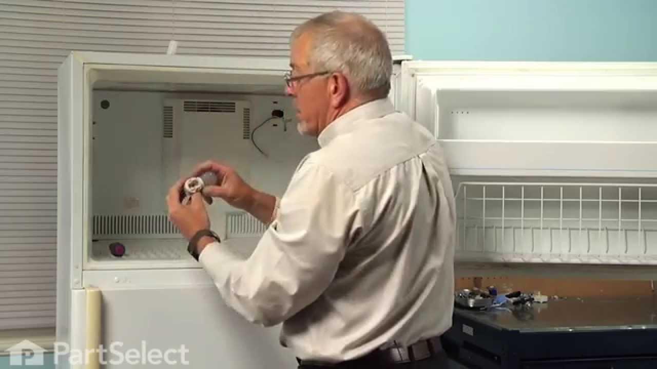 refrigerator repair replacing the evaporator fan motor whirlpool part 61004888 youtube [ 1280 x 720 Pixel ]