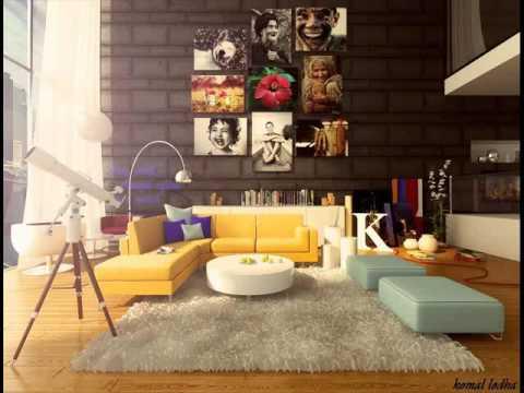 Desain Interior Ruang Tamu Kecil Ali Mensan