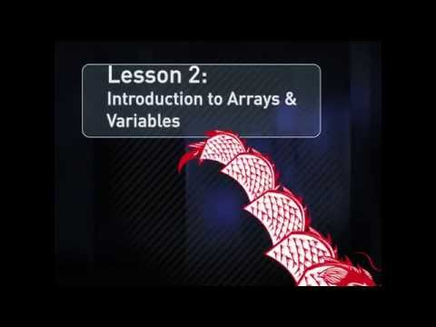 After Effects Expressions Lesson 2: Arrays and Variables