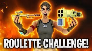 ROULETTE CHALLENGE! 🔥 | Fortnite: Battle Royale