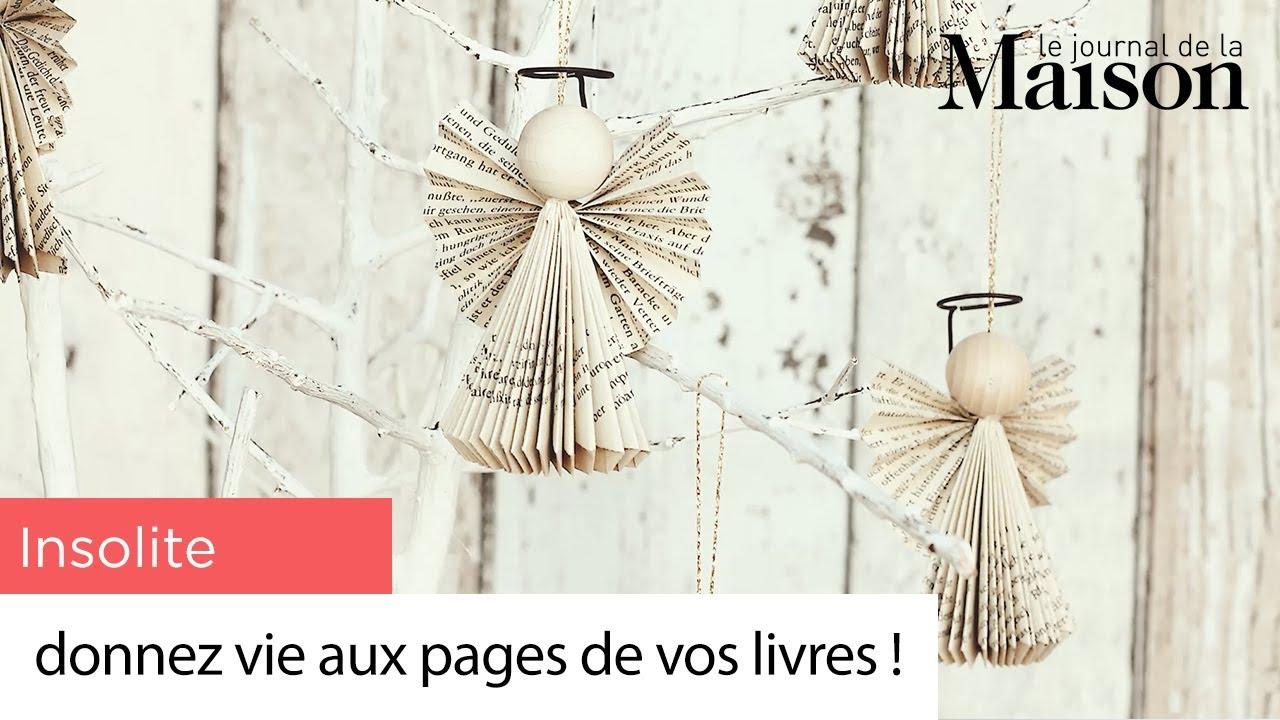 Deco Insolite Donnez Vie Aux Pages De Vos Livres