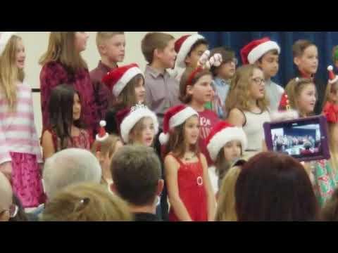 Fishhawk Creek Elementary 3rd Grade Christmas Chorus