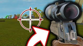 HOW TO SNIPE WITH A PISTOL... (Roblox Blood Tycoon)