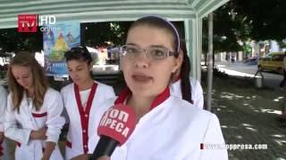 """ВИДЕО: Ученици от ПГ по МСС """"Пейо Яворов"""" с инициатива за здравословно хранене"""