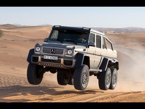 Toughest Car Ever Made Mercedes G 63 Amg 6x6 Youtube