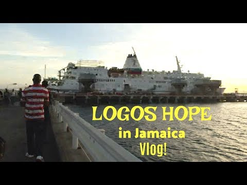 Vlog 3: Life In Jamaica | Logos Hope Book Ship, Busiest Work Week of My Life!